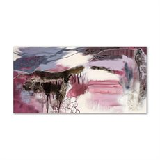 P/KBI PURPLE ABSTRACT 70X140 DUO